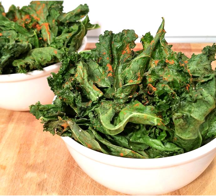 Chips de Kale | El snack más saludable