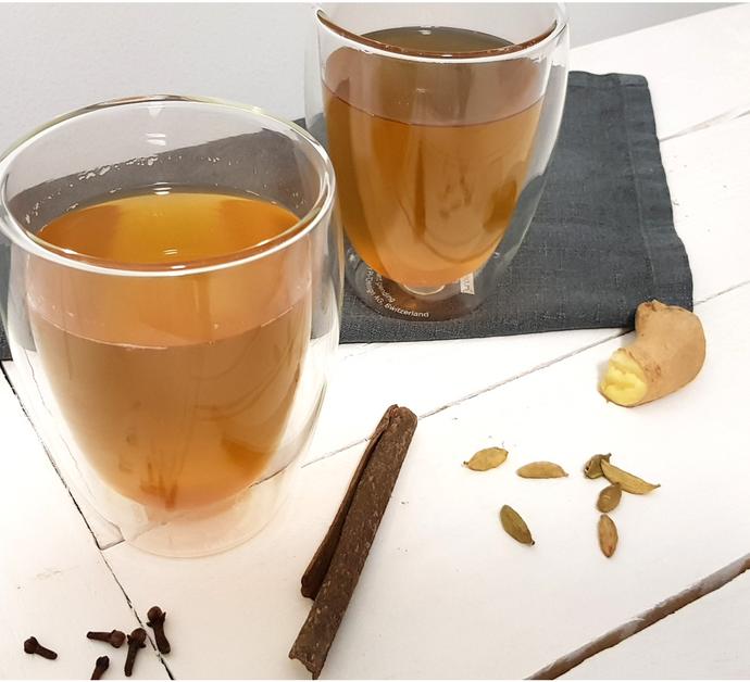 Infusión o Té de Jengibre | Como hacer té de jengibre en casa