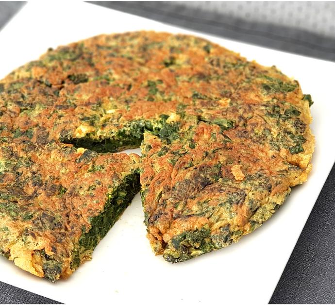 Tortilla de kale