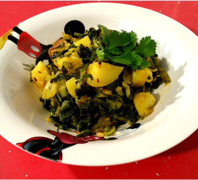 Acelgas con Patatas | Receta fácil y saludable