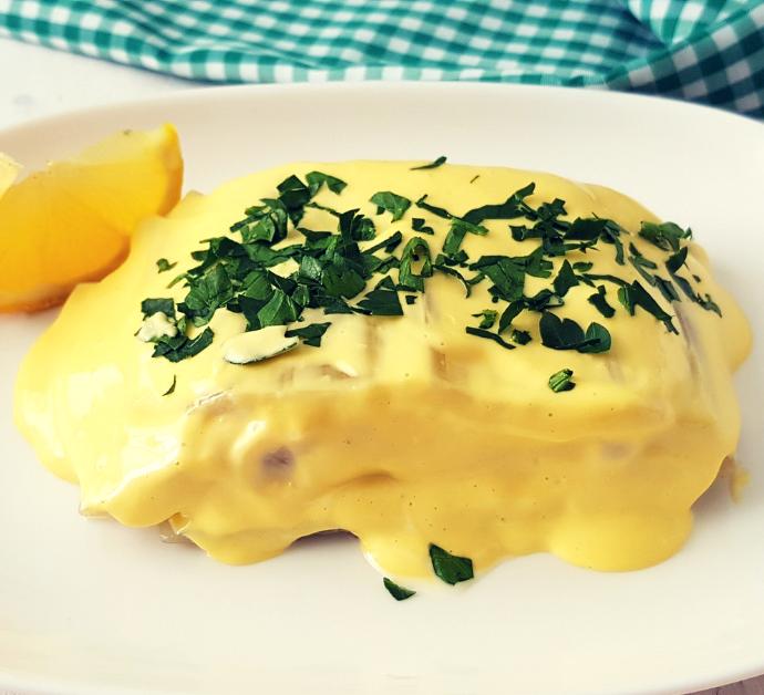 Pencas de acelga con mayonesa de ajo