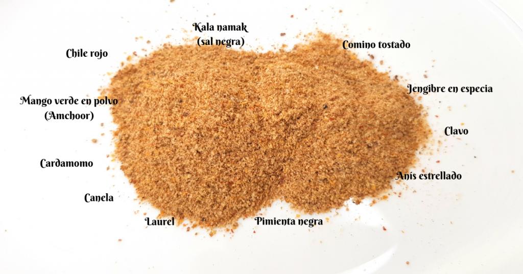 Chaat Masala - Mezcla de especia