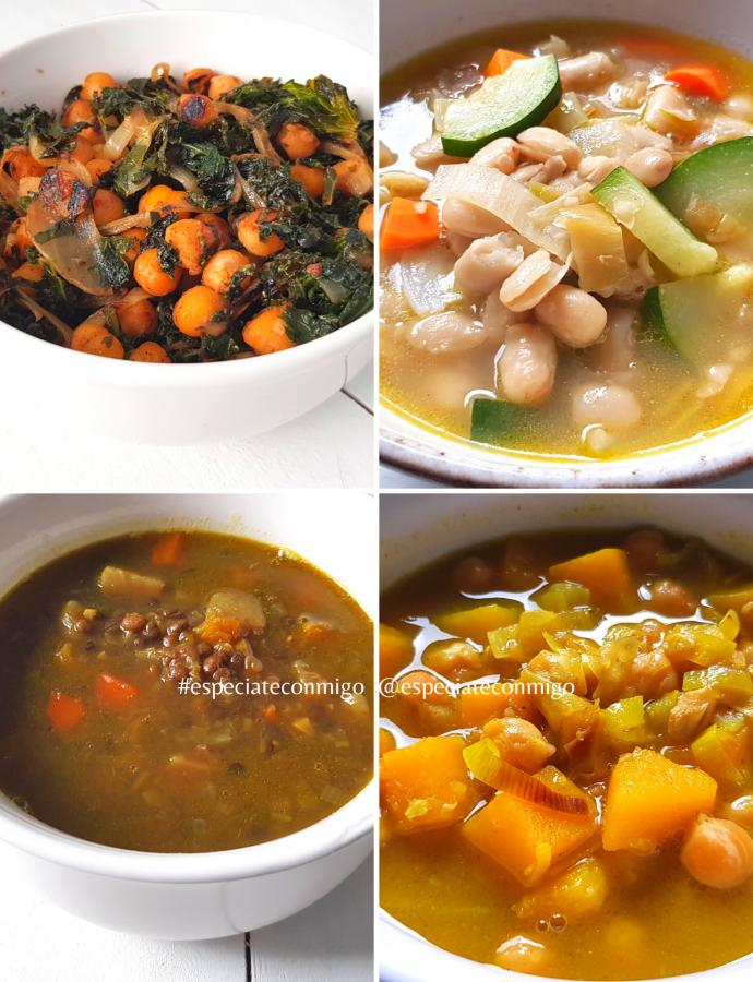 4 recetas exprés de legumbres