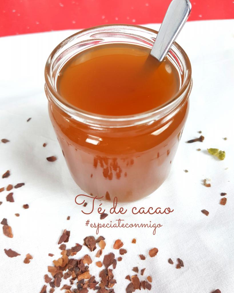 Infusión o té de cacao